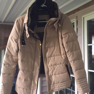 Zara basic winter coat